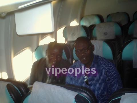 Kouthia et Guissé Péne se croisent dans l'avion! Pure coincidence ou destin lié?