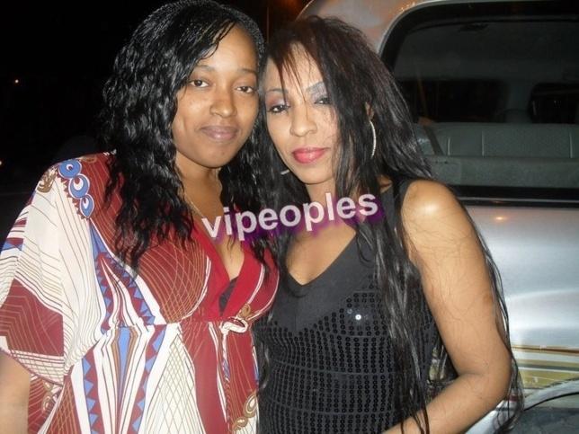 Viviane Ndour et sa cousine! La beauté est dans le sang