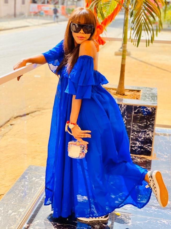 Princess Mame Awa Mbacké, La Fille De Serigne Abdou Karim En Mode Relax