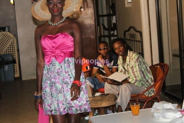 Quand Fleur Mbaye se maquille, ça donne ça!!!