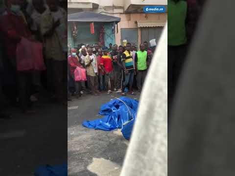 Dernière minute-Sandaga: Un Camion Fou Perd Le Contrôle, Écrase Des Voitures Et Tue Une Personne