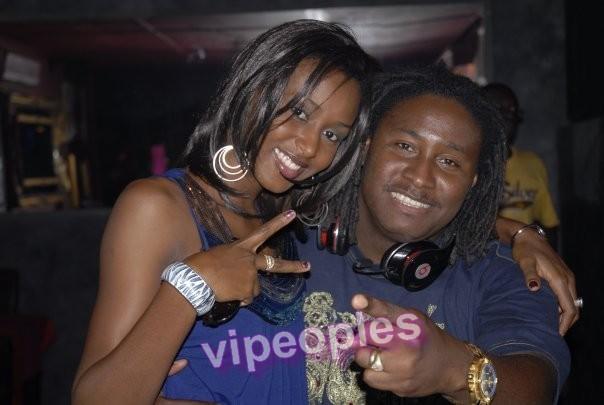 Didier Awadi et l'ex miss Diallo