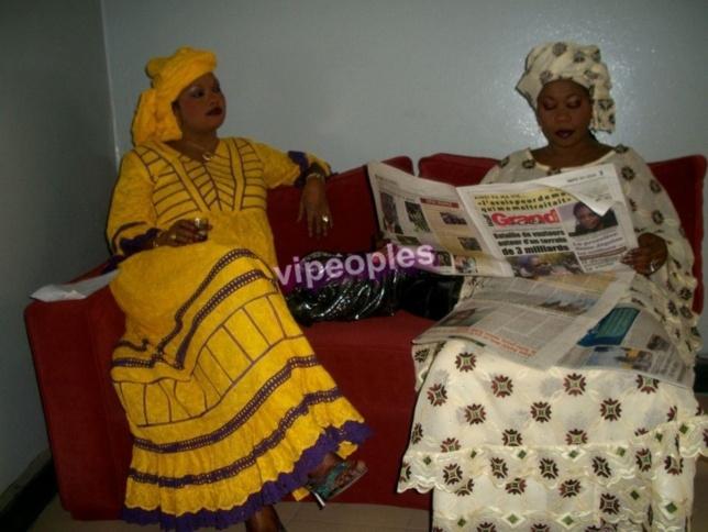 Lei Gueye et Aissatou Diallo de l'émission Jeeg Ak Kérem