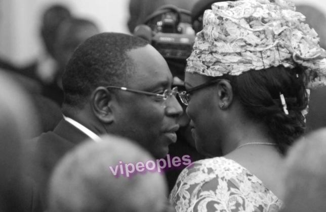 Un face à face réussi entre la Premiere Dame du Sénégal et son Mari Macky Sall