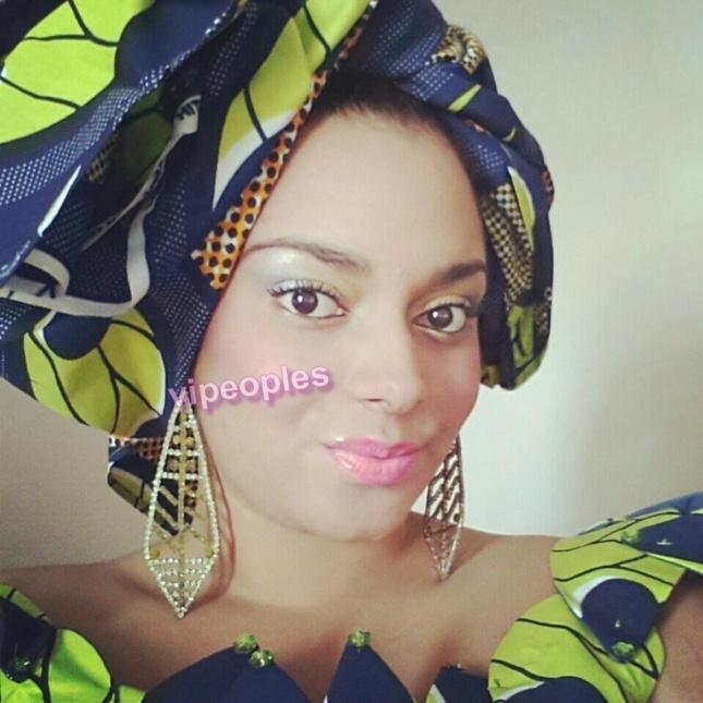 Thioro Balbaki pétillante en habit traditionnel