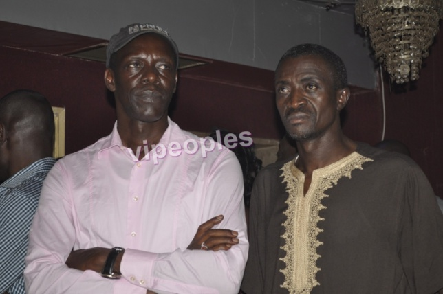 Djimy Mbaye et Jonshon le journaliste