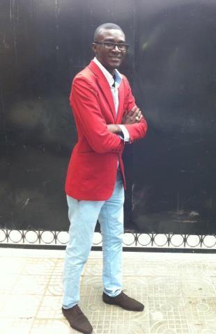 Mamadou Gomis dit ''Gomza'' est photographe professionnel pour le groupe de presse Walfadjri