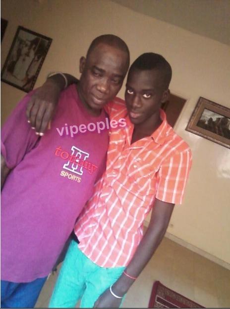 Mapenda Seck et son fils