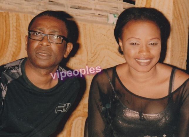 Youssou Ndour et Mbathio Ndiaye
