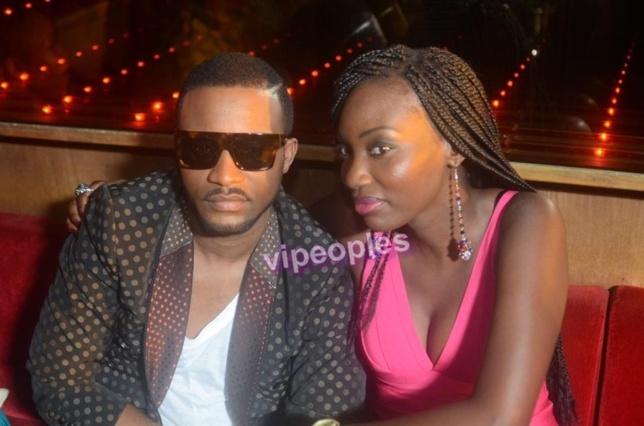l'artiste Fally Ipupa & Mina, lors du tournage pour ça nouvelle chanson : sweat Life la vie est belle la vie est Douce...