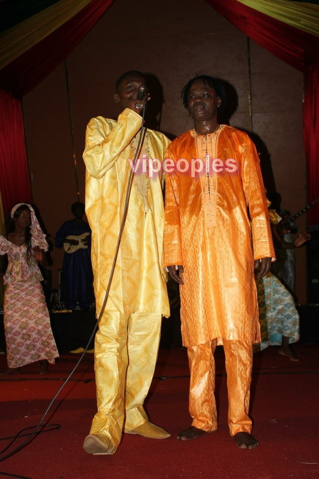 Demba Guissé et Baba Maal
