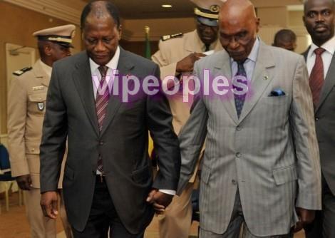 Entre Abdoulaye Wade et Ouattara: Deux amis ou stratégie de communication?