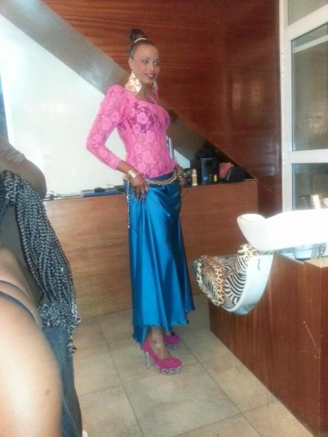 Mbathio Ndiaye , la danseuse a bien maigri