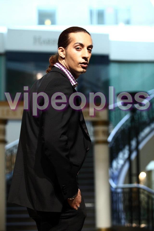 Mohamed Amada N'Diaye, jeune styliste et mannequin à Montréal