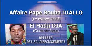 """Des millions, des terrains offerts à Pape Bouba, abandon de poste: L'oncle du policer radié dément: """"Il n'a reçu aucun franc. le chargé de com de Antoine Diome est mal informé..."""""""