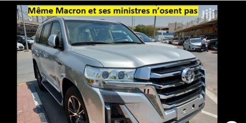 La Land cruiser du DG de Dakar Dem Dikk choque les Sénégalais et les…français