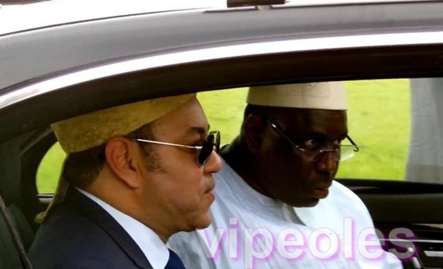 [PHOTOS] Accueil de Sa Majesté le Roi   Mohammed VI