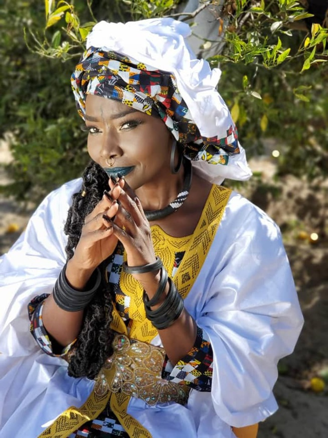Coumba Gawlo sublime en tenue Yaye Fall