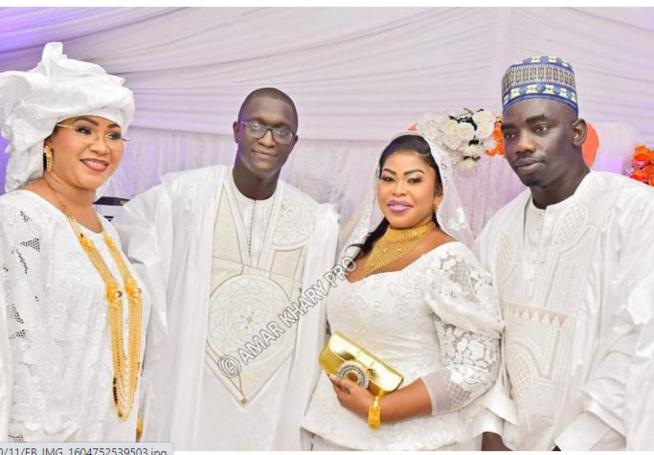 Mariage Vip de Amina Fall, fille de Dame Fall en images