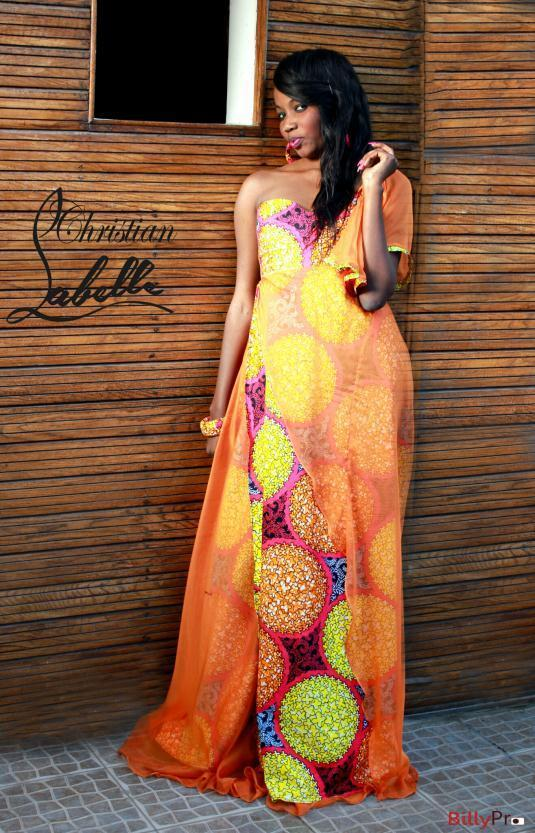 La jeune créatrice Khady Louise Labelle Diop de la marque « Christian Labelle » présente sa collection