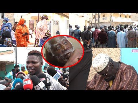Les tristes images de l'enterrement de Boy Bambara