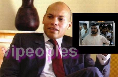 L'Emir de Dubai blanchit Karim Wade