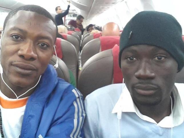 Tange Tange et Gomis sont en route  pour le ''Grand Bégué''de Pape Diouf à  Paris!