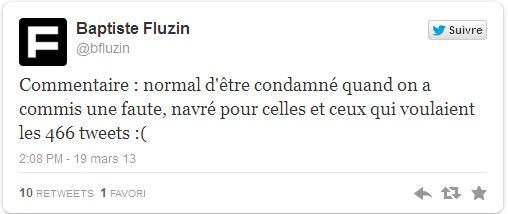Injures sur Twitter: un internaute condamné pour avoir injurié Jean-François Copé