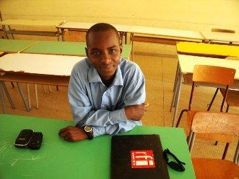 Quelques mots sur Ousmane Gueye, étudiant et mondoblogueur sénégalais