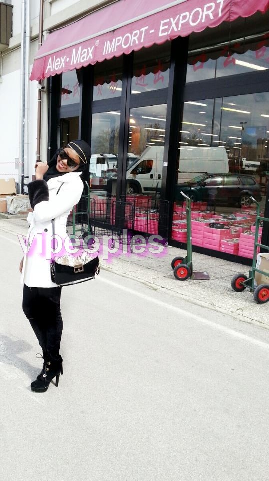 Sira Sissokho toute souriante