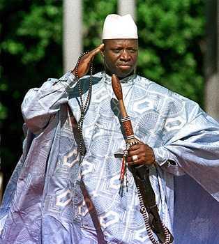 Le Président Jammeh promet l'enfer aux homosexuels qui mettraient les pieds en Gambie