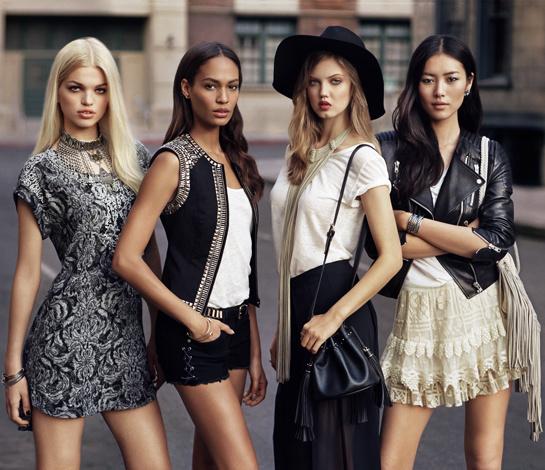 H&M s'inspire du style des mannequins