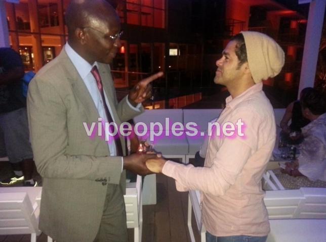 Le conseiller spécial du président chargé des Ntics salue le comedien Diamel Debbouze
