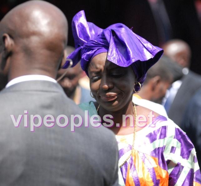 Même avec une grimace, Mimi Touré reste toujours belle dame!