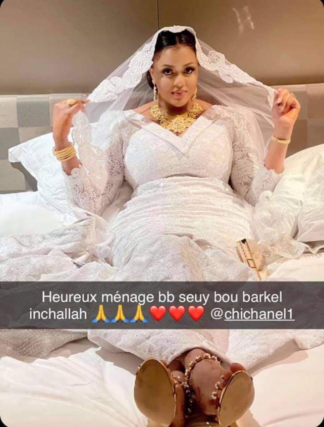 Amina Ndong, la petite sœur de l'ex-mannequin, Aida Ndong, s'est mariée