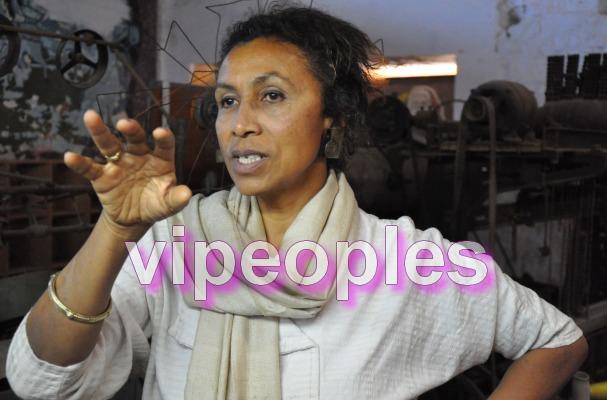 Aissa Dione, décoratrice et entrepreneuse, redonne vie à l'industrie du textile sénégalaise