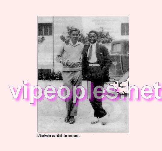 Leopold Sedar Senghor aimait nager dans le Lac D'Annecy France