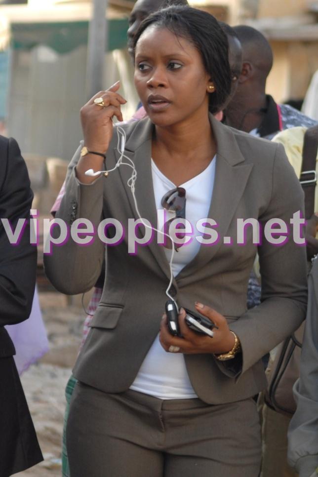 Ami Sankaré, l'ex femme du ministre Aliou Sow à Colobane