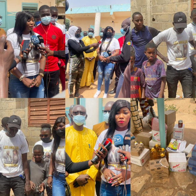 Journée de lancement de la Journaliste Zeyna Bamba Ndiaye dans le social