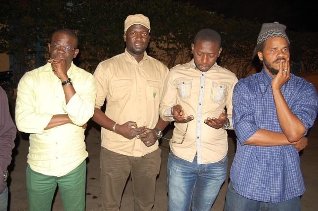 [Photos] Arrivée du corps d' Édouard à l'aéroport de Dakar, ses proches au rendez-vous