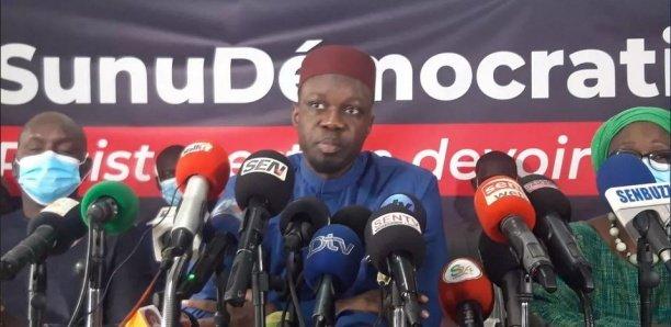 Ousmane Sonko:  » J'appelle tout le monde à rester mobilisé parce que nous n'accepterons aucune injustice »