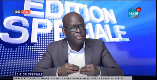 """Cheikh Bamba Dieye: """" Les péripéties et les tentations qui ont abouti à cette arrestation confirment la thèse du complot et d'abus de pouvoir"""""""