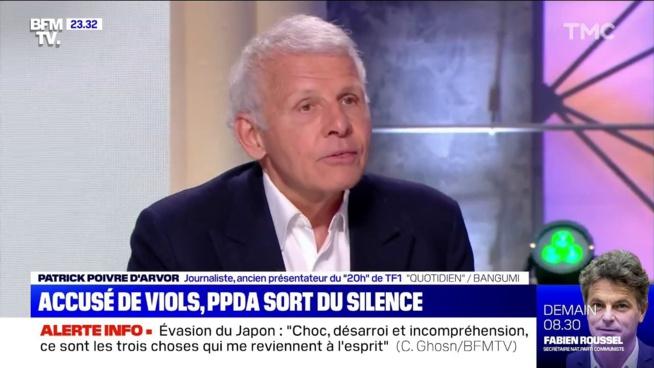 Patrick Poivre d'Arvor accusé de viols : Il sort du silence dans Quotidien