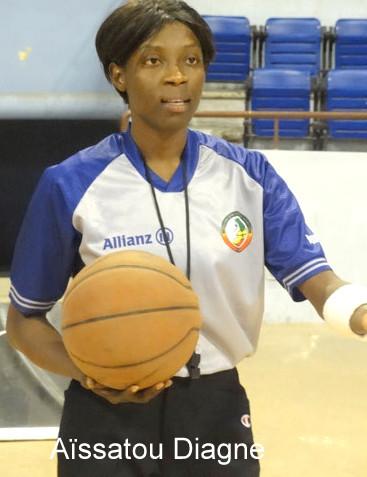 BASKET : AISSATOU DIAGNE sifflera a l'eurobasket U18 en Hongrie. Baba Tandian : « Ndeye Aïssatou Ndiaye est notre fierté »