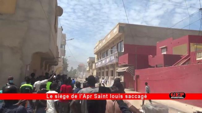 Urgent – Saint-Louis: Le siège de l'APR saccagé