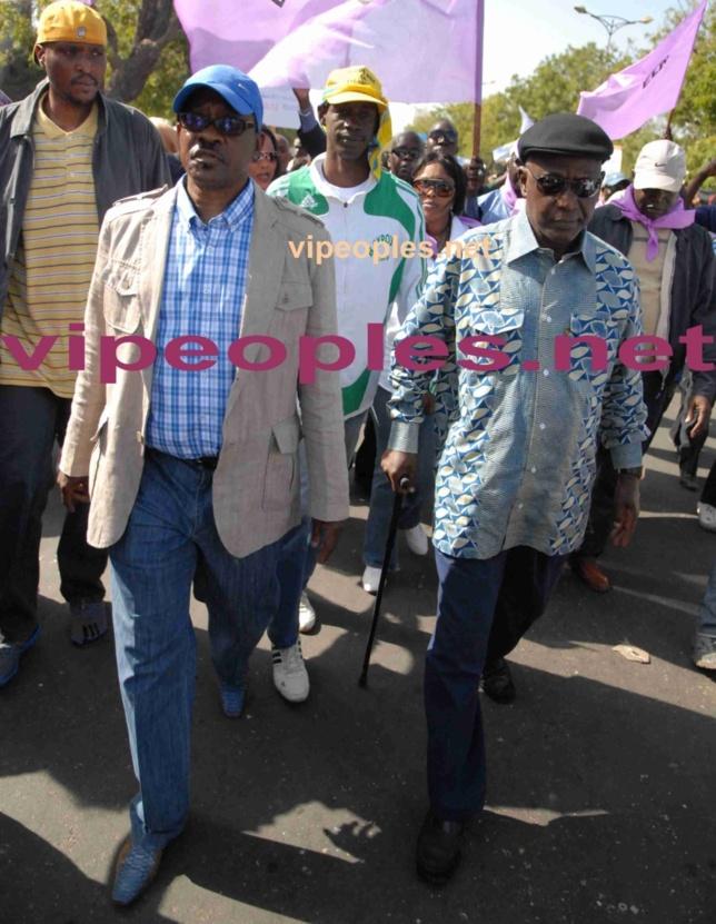 Me Madické Niang et Cheikh Tidiane Sy,  anciens ministres de la justice sous le régime de Wade.