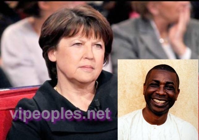 Martine Aubry fan de… Youssou N'Dour