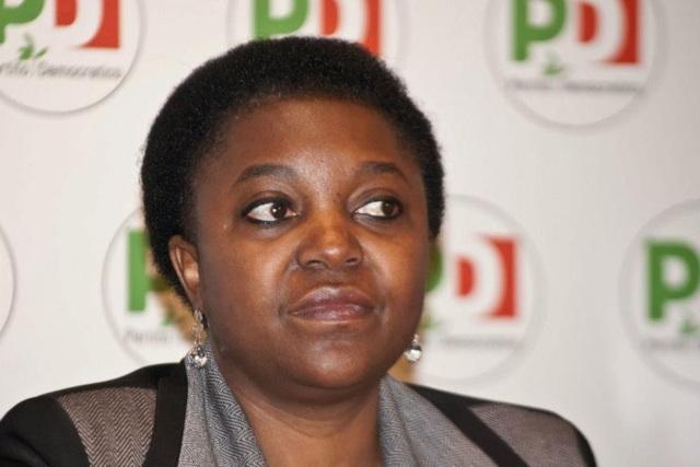 La première femme noire au parlement italien.