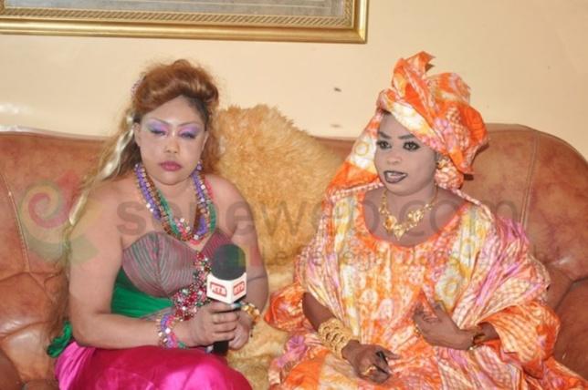 Aida Patra et Fatou Laobé