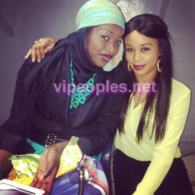 Mya Gueye et Léa Soukeyna Ndiaye
